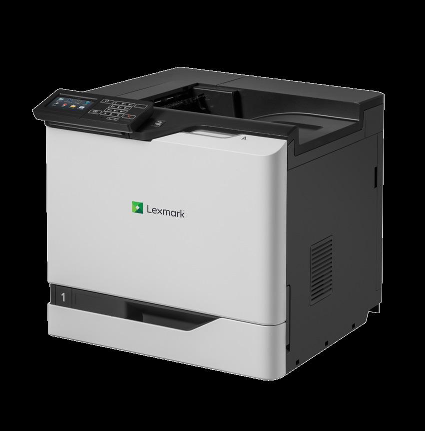 Lexmark CS820de Laser Printer - Colour - 2400 x 600 dpi Print - Plain Paper Print - Desktop