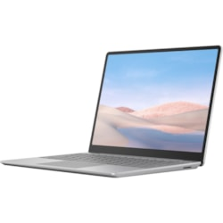 "Microsoft Surface Laptop Go 31.5 cm (12.4"") Touchscreen Notebook - 1536 x 1024 - Intel Core i5 (10th Gen) - 8 GB RAM - 256 GB SSD - Platinum"