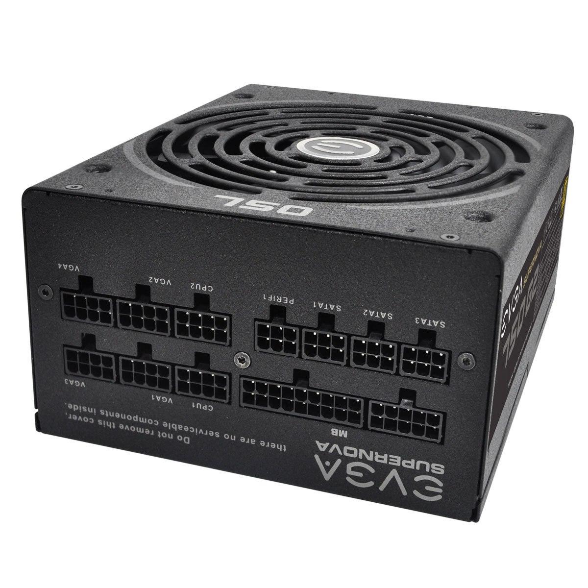 EVGA SuperNOVA 750 G2 ATX12V/EPS12V Power Supply - 90% Efficiency - 750 W