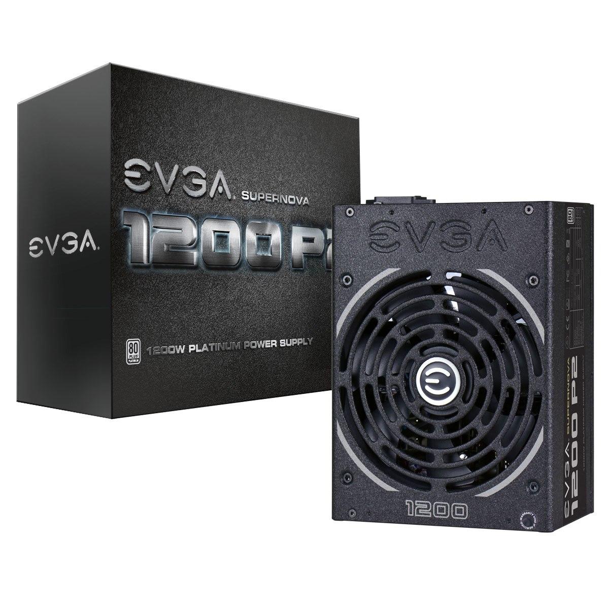 EVGA SuperNOVA 1200 P2 ATX12V/EPS12V Power Supply - 94% Efficiency - 1.20 kW
