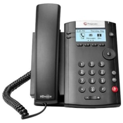 Polycom 201 IP Phone - Desktop, Wall Mountable