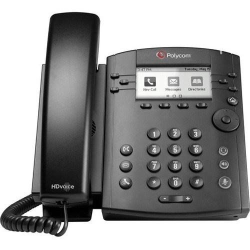 Poly VVX 301 IP Phone - Wall Mountable