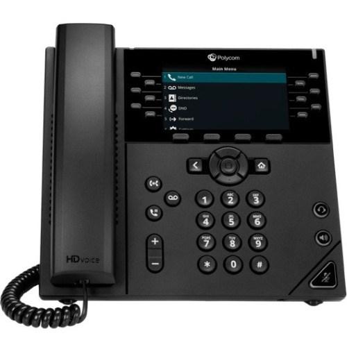 Polycom 450 IP Phone - Corded - Corded - Desktop, Wall Mountable - TAA Compliant