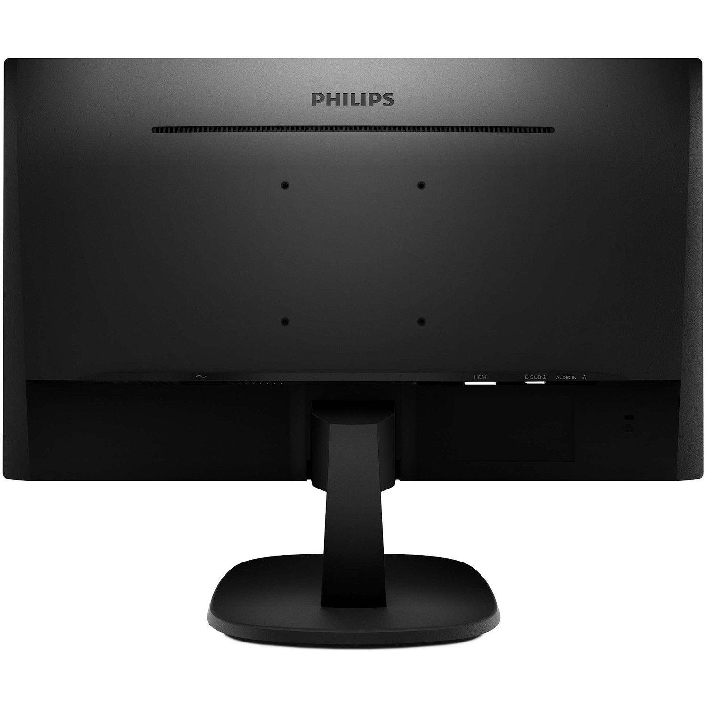 "Philips V-line 223V7QHAB 54.6 cm (21.5"") Full HD WLED LCD Monitor - 16:9 - Textured Black"