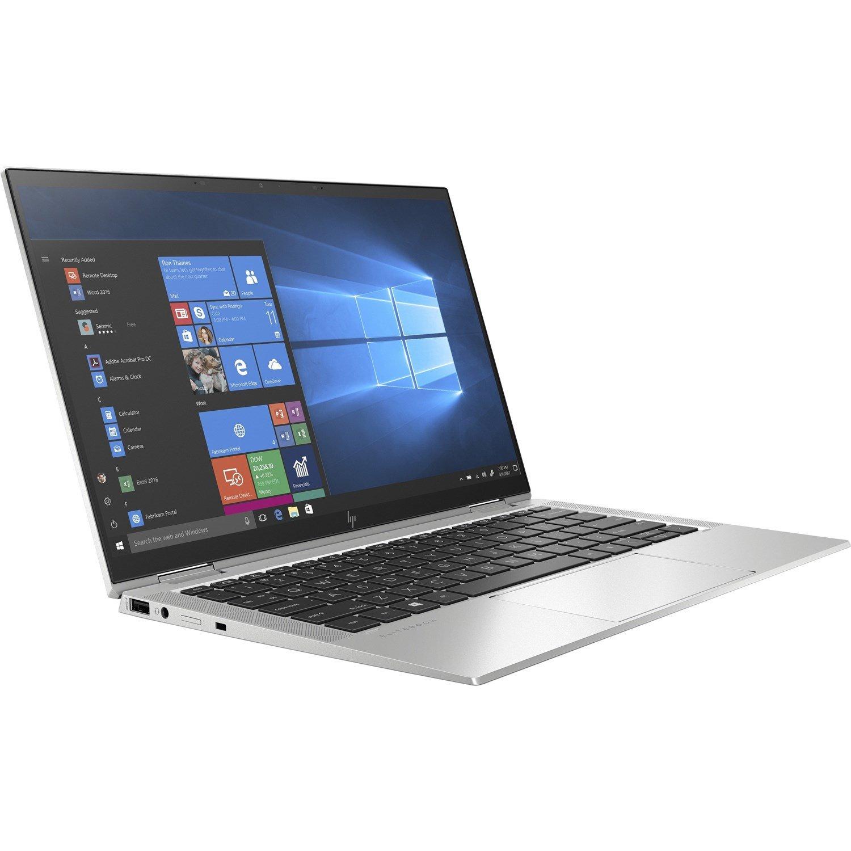 "HP EliteBook x360 1030 G7 33.8 cm (13.3"") Touchscreen 2 in 1 Notebook - Intel Core i5 (10th Gen) i5-10310U Hexa-core (6 Core) 1.70 GHz - 8 GB RAM - 256 GB SSD"