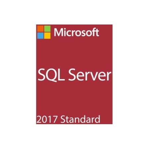Microsoft SQL Server 2017 Standard - Box Pack - 1 Server, 10 Client
