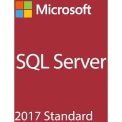 Microsoft SQL Server 2017 Standard - Box Pack - 1 Server, 10 Client