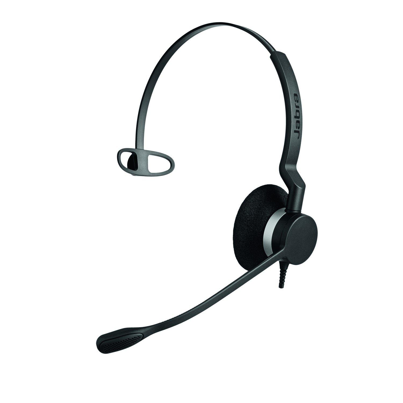 Jabra BIZ 2300 USB MS Wired Over-the-head Mono Headset