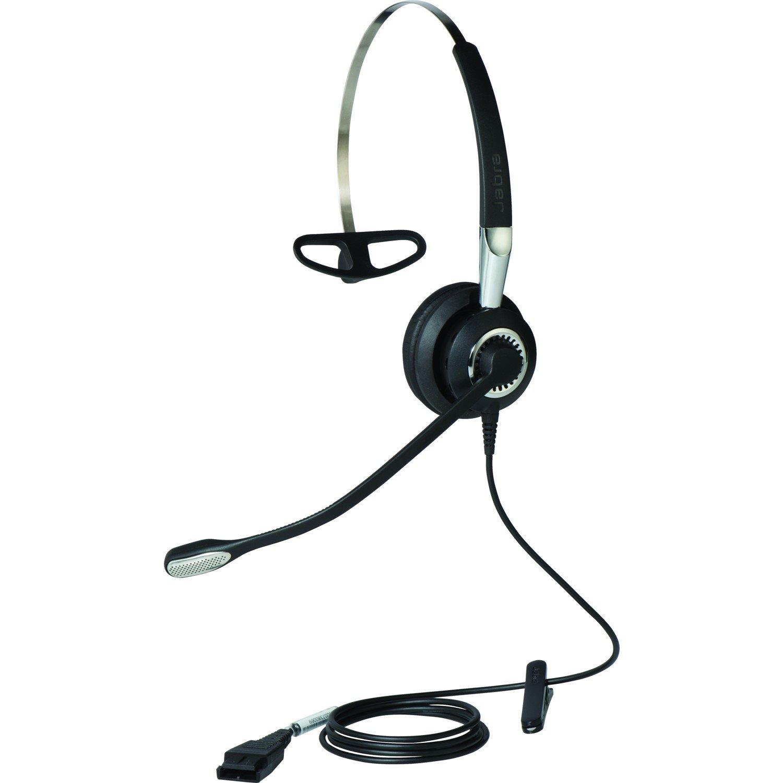 Jabra BIZ 2400 II QD Wired Over-the-head Mono Headset - Black