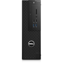 Dell Precision 3000 3420 Workstation - Intel Core i7 (7th Gen) i7-7700 Quad-core (4 Core) 3.60 GHz - 8 GB DDR4 SDRAM - 256 GB SSD - NVIDIA Quadro P600 2 GB Graphics - Windows 10 Pro 64-bit (English) - Small Form Factor - Black