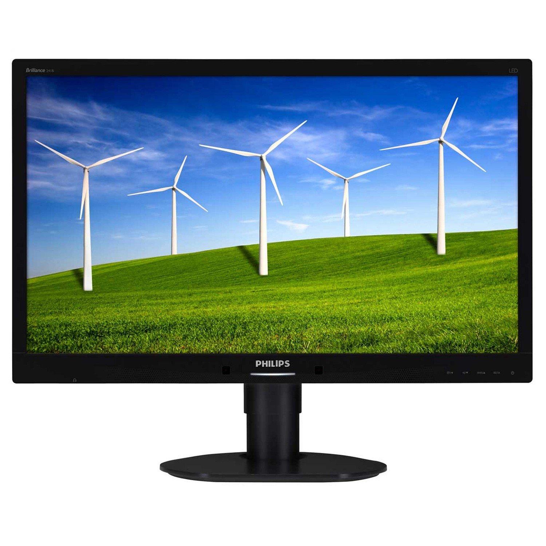 "Philips Brilliance 241B4LPYCB 61 cm (24"") LED LCD Monitor - 16:9 - 5 ms"