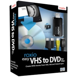 Roxio Easy VHS to DVD with USB 2.0 TV/Video Capture Device - Complete Product - 1 User - Standard
