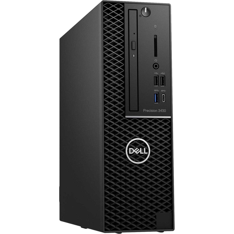 Dell Precision 3000 3430 Workstation - Intel Core i7 (8th Gen) i7-8700 Hexa-core (6 Core) 3.20 GHz - 16 GB DDR4 SDRAM - 512 GB SSDNVIDIA Quadro P1000 4 GB Graphics - Windows 10 Pro 64-bit (English) - Small Form Factor