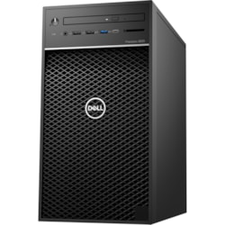 Dell Precision 3000 3630 Workstation - Intel Core i5 (8th Gen) i5-8500 Hexa-core (6 Core) 3 GHz - 8 GB DDR4 SDRAM - 256 GB SSD - NVIDIA Quadro P620 2 GB Graphics - Windows 10 Pro 64-bit (English) - Tower