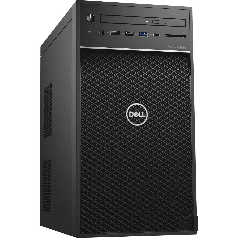 Dell Precision 3000 3630 Workstation - Intel Core i5 (8th Gen) i5-8500 Hexa-core (6 Core) 3 GHz - 8 GB DDR4 SDRAM - 256 GB SSD - NVIDIA Quadro P620 2 GB Graphics - Windows 10 Pro 64-bit (English) - Tower