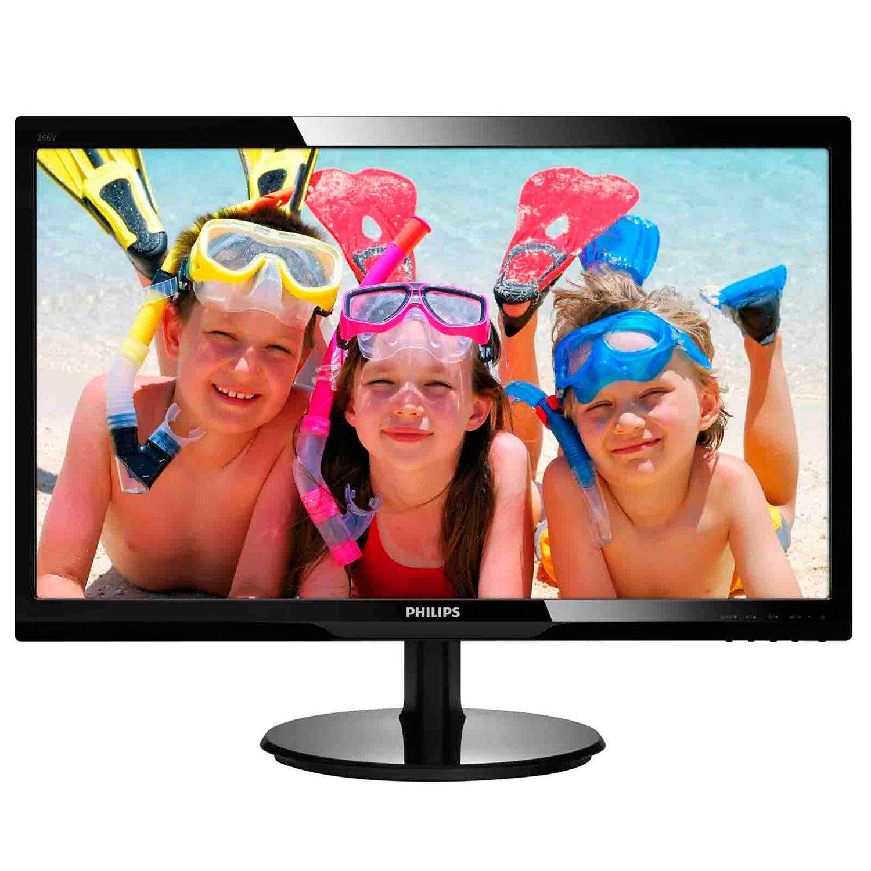 "Philips 246V5LHAB 61 cm (24"") LED LCD Monitor - 16:9 - 1 ms"
