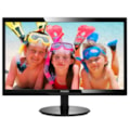 "Philips 246V5LHAB 61 cm (24"") Full HD LED LCD Monitor - 16:9 - Glossy Black, Textured Black"