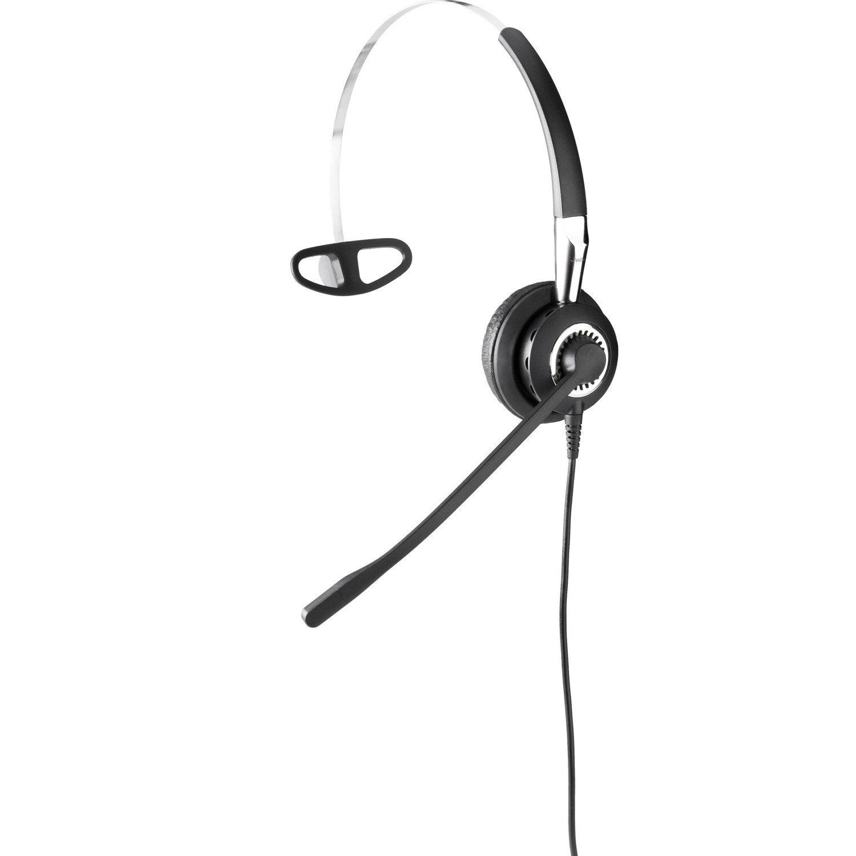Jabra BIZ 2400 II QD Wired Mono Headset - Over-the-head, Behind-the-neck - Supra-aural