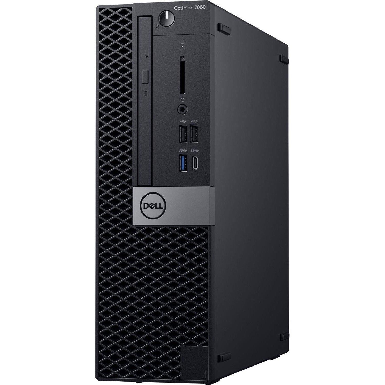 Dell OptiPlex 7000 7060 Desktop Computer - Intel Core i7 (8th Gen) i7-8700 - 8 GB DDR4 SDRAM - 512 GB SSD - Windows 10 Pro 64-bit (English) - Small Form Factor