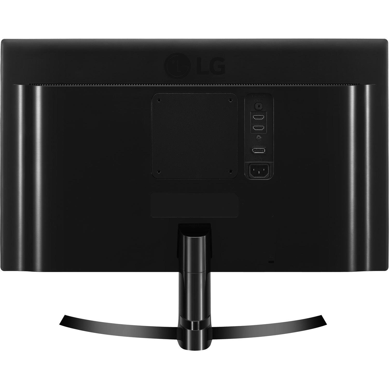 "LG 24UD58-B 60.5 cm (23.8"") 4K UHD LED LCD Monitor - 16:9 - Matte Black, Glossy Black"
