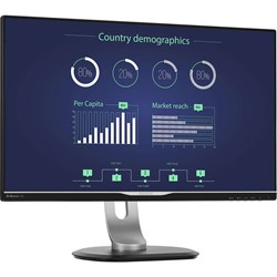 "Philips Brilliance 258B6QUEB 63.5 cm (25"") LED LCD Monitor - 16:9 - 5 ms"