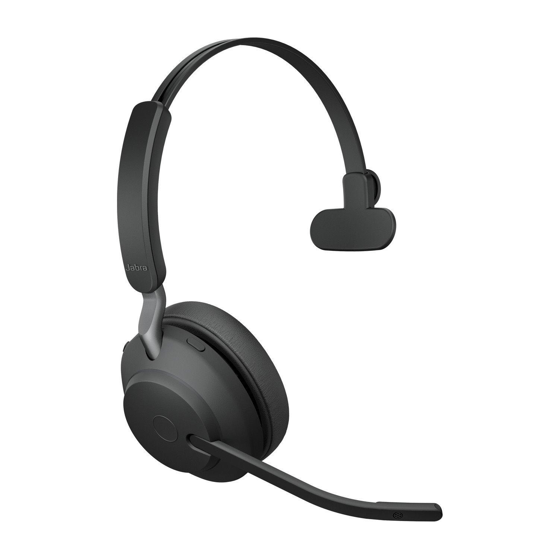 Jabra Evolve2 65 Wireless Over-the-head Mono Headset - Black