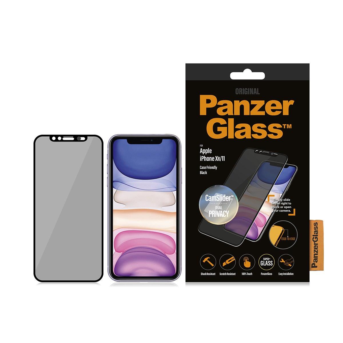 PanzerGlass Original Tempered Glass Screen Protector - Black