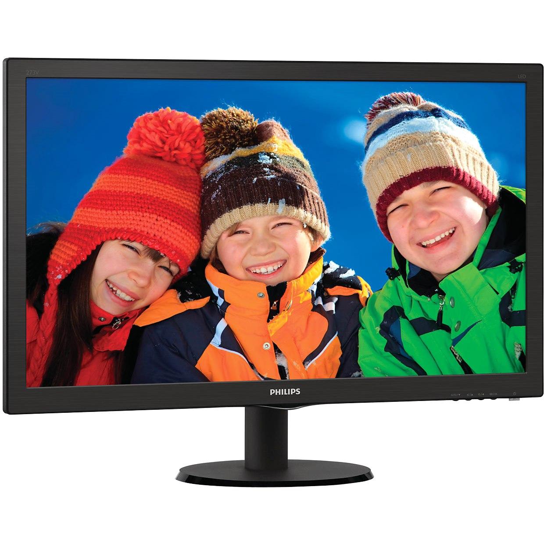 "Philips 273V5LHAB 68.6 cm (27"") Full HD LED LCD Monitor - 16:9 - Black"