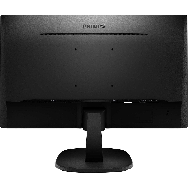 "Philips V-line 273V7QDAB 68.6 cm (27"") WLED LCD Monitor - 16:9 - 5 ms GTG"