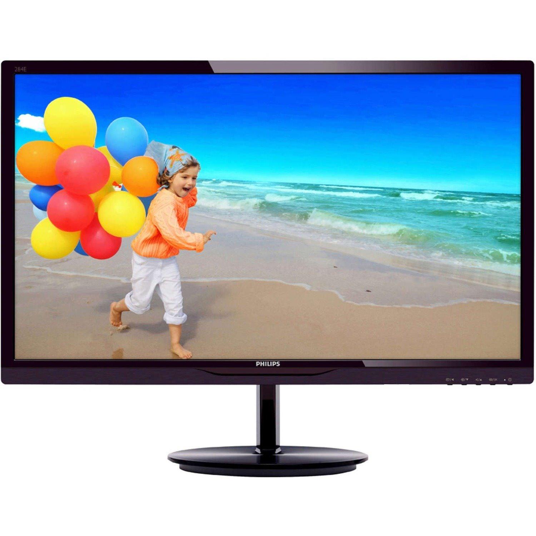 "Philips E-line 284E5QHAD 71.1 cm (28"") Full HD WLED LCD Monitor - 16:9 - Glossy Black Cherry"