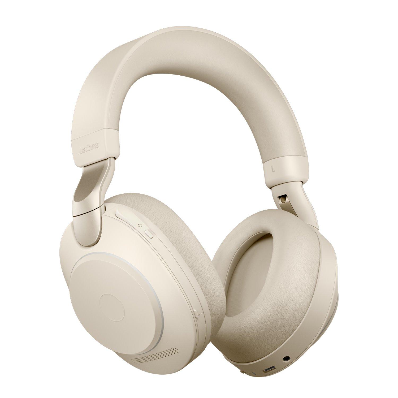 Jabra Evolve2 85 Wireless Over-the-head Stereo Headset - Beige