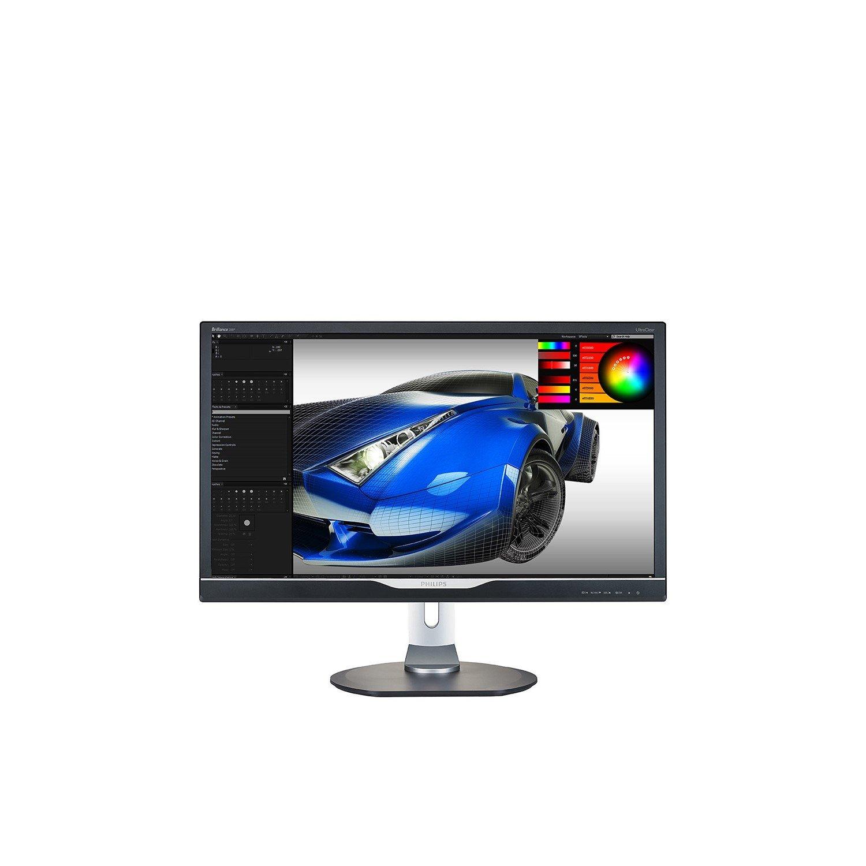 "Philips Brilliance 288P6LJEB 71.1 cm (28"") 4K UHD LED LCD Monitor - 16:9 - Textured Black"