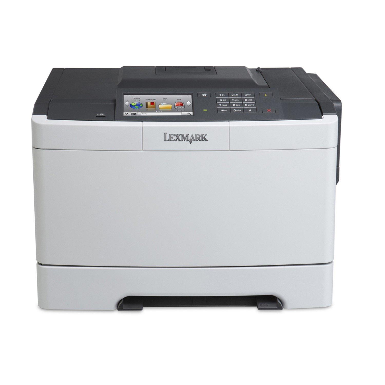 Lexmark CS510DE Laser Printer - Colour - 2400 x 600 dpi Print - Plain Paper Print - Desktop