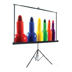 "2C Present IT Projection Screen - 190.5 cm (75"") - 4:3, 16:9"