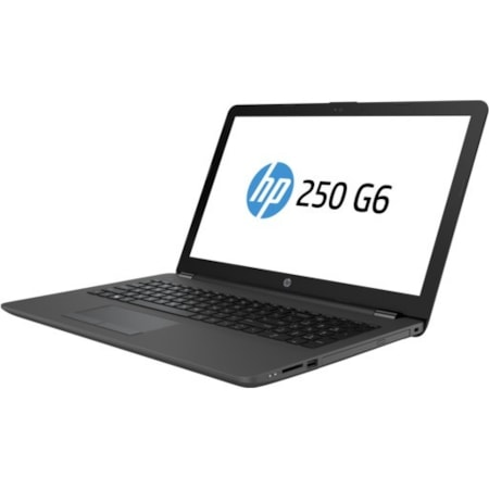 "HP 250 G6 39.6 cm (15.6"") LCD Notebook - Intel Celeron N3060 Dual-core (2 Core) 1.60 GHz - 4 GB DDR3L SDRAM - 500 GB HDD - Windows 10 Home 64-bit - 1366 x 768"