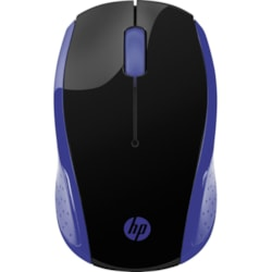 HP 200 Mouse - Optical - Wireless - Navy Blue