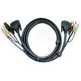 Aten 2L-7D03U USB KVM Cable - 3 m