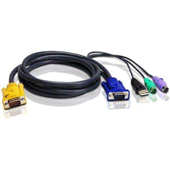 Aten 2L5301UP KVM Cable - 3.05 m - Shielding