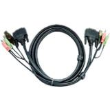 Aten 2L7D02UI KVM Cable for KVM Switch - 1.83 m