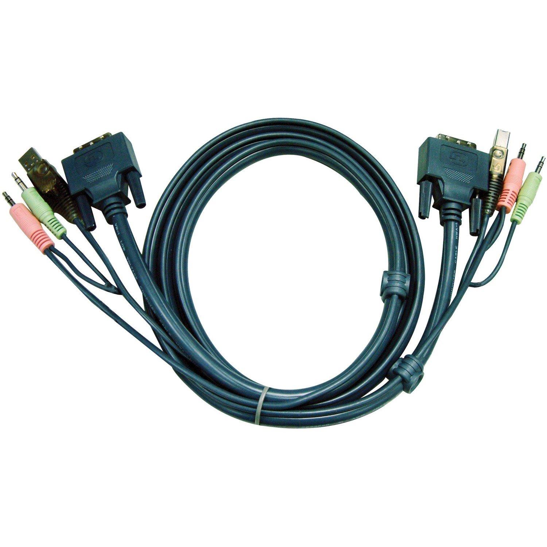 Aten 2L7D03UI KVM Cable for KVM Switch - 3.05 m