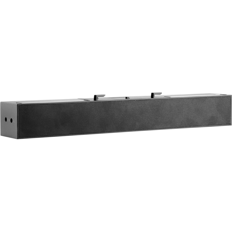 HP S100 Sound Bar Speaker - 2.5 W RMS - Black