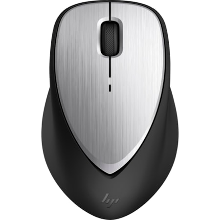 HP ENVY 500 Mouse - Radio Frequency - USB - Laser - 3 Button(s) - Black, Silver