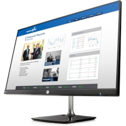 "HP N240h 60.5 cm (23.8"") Full HD WLED LCD Monitor - 16:9 - Black, Silver"