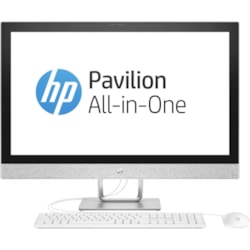 "HP Pavilion 27-r000 27-r077a All-in-One Computer - Intel Core i7 (7th Gen) i7-7700T 2.90 GHz - 16 GB DDR4 SDRAM - 3 TB HDD - 16 GB SSD - 68.6 cm (27"") 2560 x 1440 Touchscreen Display - Windows 10 Home 64-bit - Desktop"