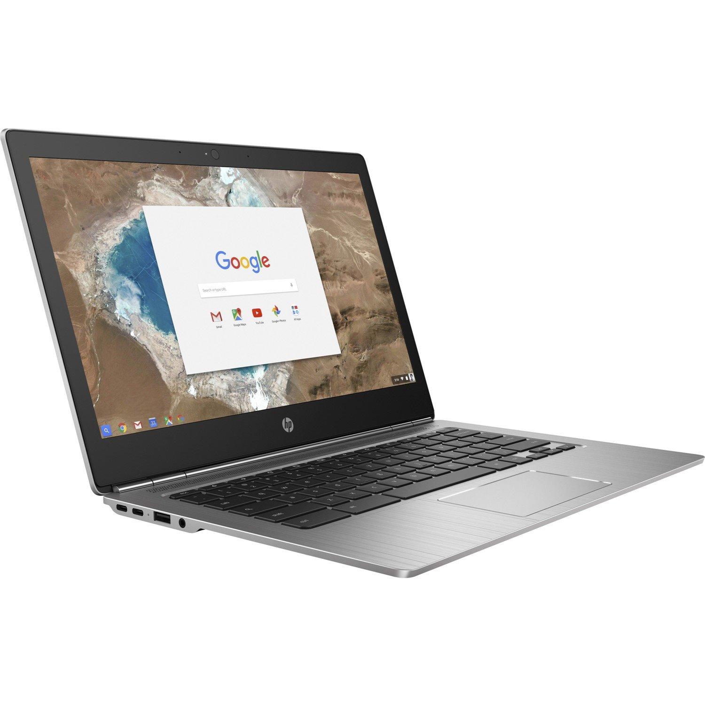 "HP Chromebook 13 G1 29.5 cm (11.6"") Touchscreen LCD Chromebook - Intel Core M (7th Gen) m3-7Y30 Dual-core (2 Core) 1 GHz - 4 GB LPDDR3 - 128 GB SSD - Windows 10 Pro 64-bit - 1366 x 768"