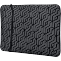"""HP Carrying Case (Sleeve) for 39.6 cm (15.6"""") Notebook - Black, Grey"""