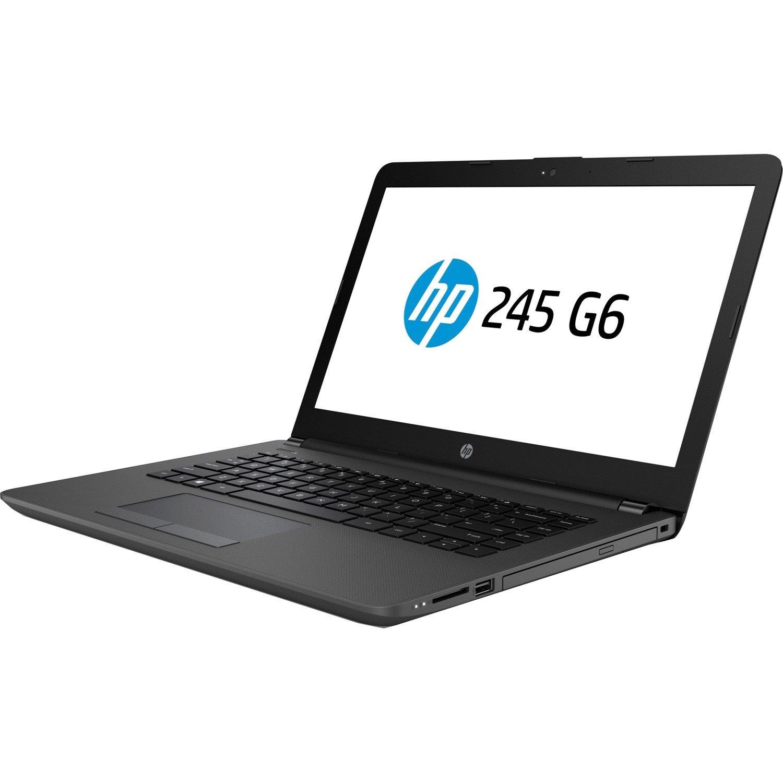 "HP 245 G6 35.6 cm (14"") LCD Notebook - AMD E-Series E2-9000e Dual-core (2 Core) 1.50 GHz - 8 GB DDR4 SDRAM - 1 TB HDD - Windows 10 Home 64-bit - 1366 x 768"