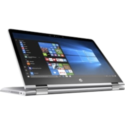 "HP Pavilion x360 14-ba100 14-ba114tu 35.6 cm (14"") Touchscreen LCD 2 in 1 Notebook - Intel Core i5 (8th Gen) i5-8250U Quad-core (4 Core) 1.60 GHz - 8 GB DDR4 SDRAM - 256 GB SSD - Windows 10 Home 64-bit - 1920 x 1080 - In-plane Switching (IPS) Technology - Convertible - Natural Silver"