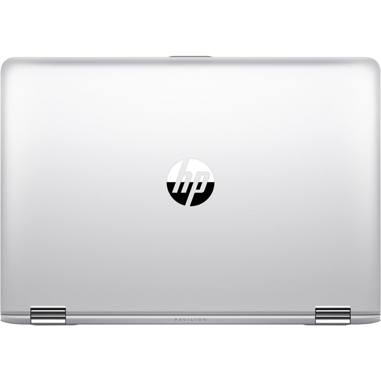 "HP Pavilion x360 14-ba100 14-ba114tu 35.6 cm (14"") Touchscreen LCD 2 in 1 Notebook - Intel Core i5 (8th Gen) i5-8250U Quad-core (4 Core) 1.60 GHz - 8 GB DDR4 SDRAM - 256 GB SSD - Windows 10 Home 64-bit - 1920 x 1080 - In-plane Switching (IPS) Technology - Convertible - Natural Silver"