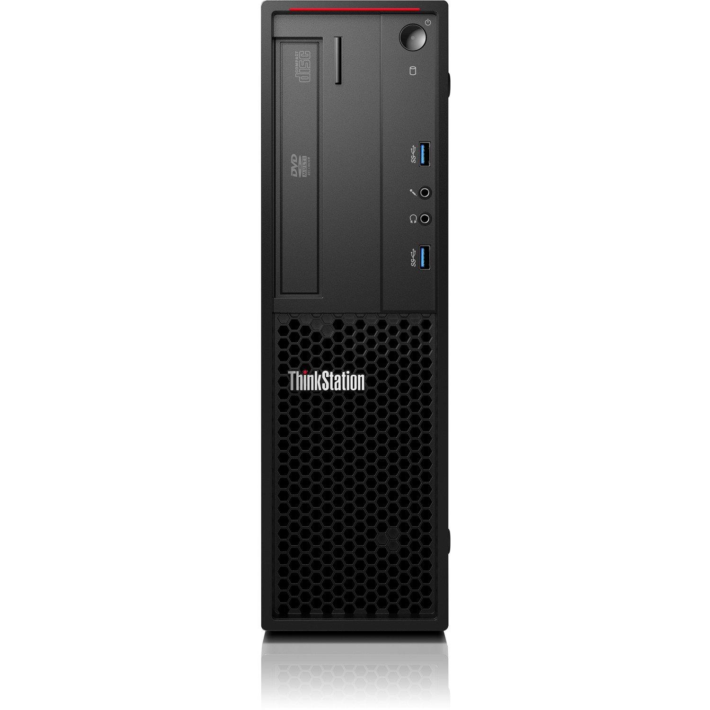 Lenovo ThinkStation P300 30AK0024AU Workstation - 1 x Intel Xeon E3-1271 v3 Quad-core (4 Core) 3.60 GHz - 8 GB DDR3 SDRAM - 256 GB SSDNVIDIA Quadro K620 2 GB Graphics - Windows 7 Professional 64-bit - Small Form Factor